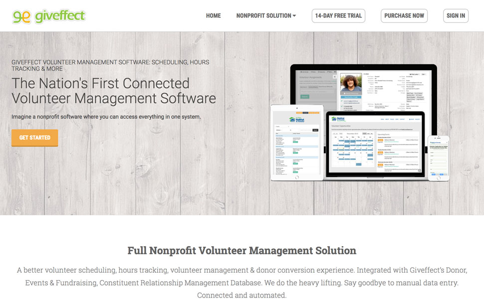1 All-in-One Volunteer Management Software for NP