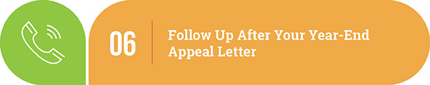 Year-end appeal letter tip | Follow up after your year-end appeal letter